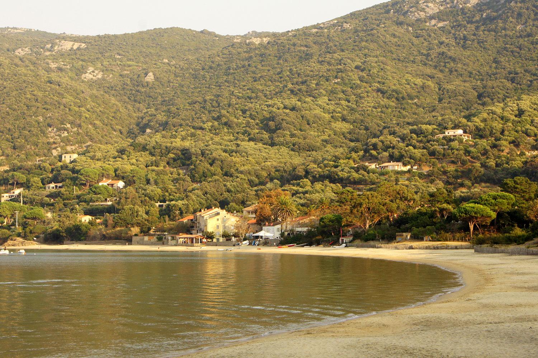 La plage de Campomoro
